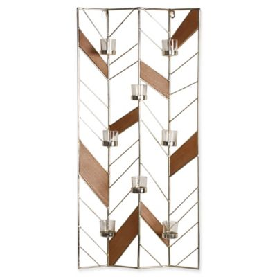Kate and Laurel Elettra Wall Sconce in Gold - Bed Bath & Beyond