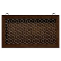 Wood Planter 30-Inch x 17-Inch Wall Art