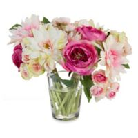John-Richard 11-Inch Cotton Candy Floral Arrangement
