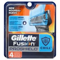 Gillette® Fusion® ProShield™ Chill™ 4-Count Replacement Cartridges