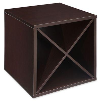 Craft + Main 15-Inch Wine Storage Cube in Espresso  sc 1 st  Bed Bath u0026 Beyond & Buy Wine Storage Cubes from Bed Bath u0026 Beyond