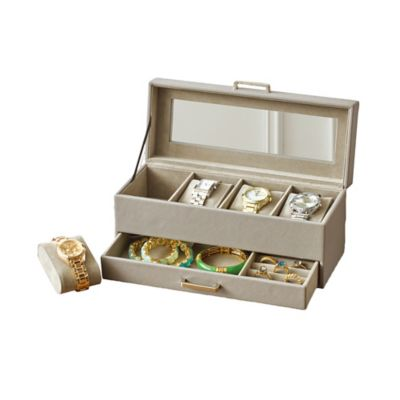 Buy Watch Jewelry Box from Bed Bath Beyond