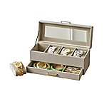 Quin Watch Box with Drawer in Grey