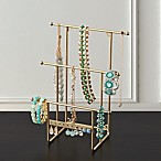 Ancient Jewelry Organizer Tree Stand in Brass