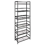 Flipshelf Wide 6-Shelf Unit in Black