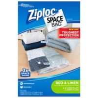 Ziploc® Space Bag® 4-Count Flat Variety Pack in Clear