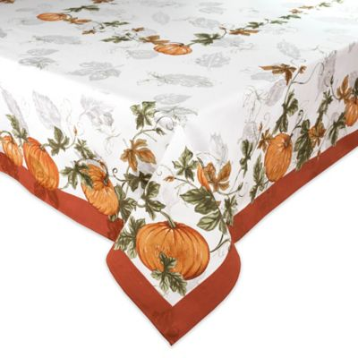 Bardwil Linens Cedar Grove 60 Inch X 84 Inch Oblong Tablecloth