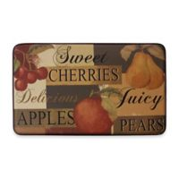 Scrumptious Fruit 24-Inch x 36-Inch Anti-Fatigue Kitchen Mat