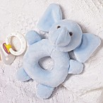 Blue Elephant Rattle