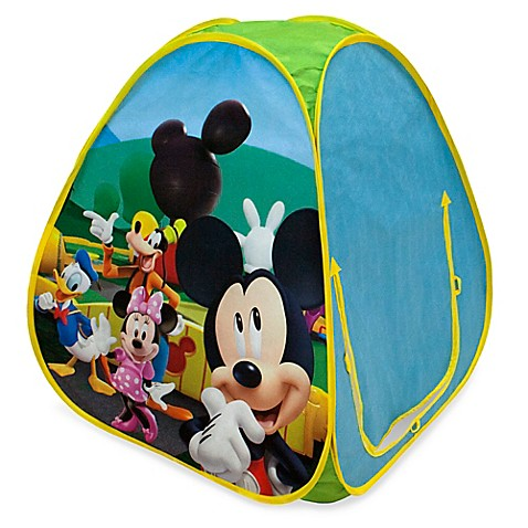 Playhut® Disney® Mickey Mouse Hideaway Pop-Up Tent  sc 1 st  Bed Bath u0026 Beyond & Playhut® Disney® Mickey Mouse Hideaway Pop-Up Tent - Bed Bath u0026 Beyond