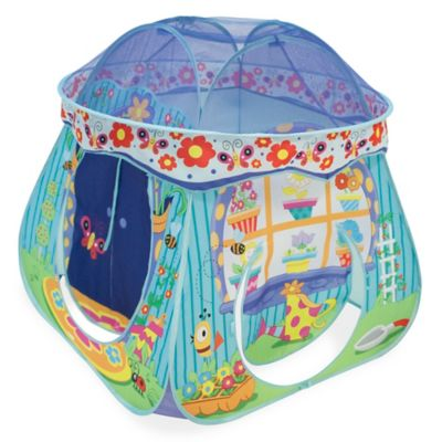 Playhut® Play Village Green House Pop-Up Tent  sc 1 st  Bed Bath u0026 Beyond & Buy Pop Up Tent from Bed Bath u0026 Beyond