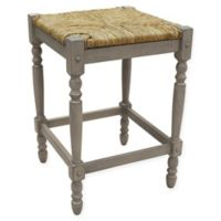 Carolina Cottage Hawthorne 24-Inch Counter Stool in Weathered Grey