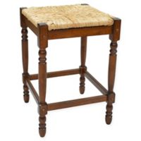 Carolina Cottage Hawthorne 24-Inch Counter Stool in Chestnut