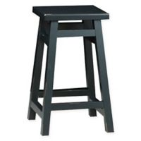 Carolina Cottage Tavern 24-Inch Counter Stool in Antique Black