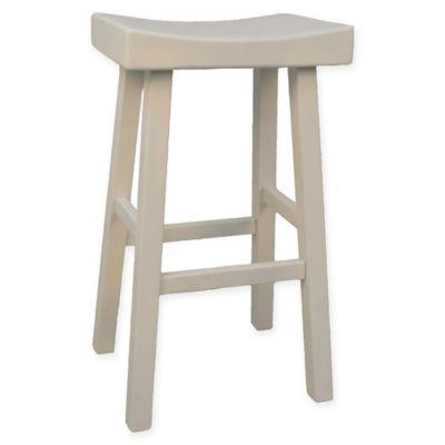carolina cottage colborn bar stool in white