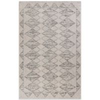 KAS Farmhouse Boho Indoor/Outdoor 5-Foot x 7-Foot 7-Inch Area Rug in Grey