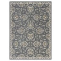 KAS Retreat Bentley 2-Foot 2-Inch x 3-Foot 9-Inch Accent Rug in Grey