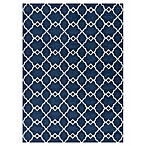 KAS Retreat Layla 6-Foot 7-Inch x 9-Foot 6-Inch Area Rug in Navy