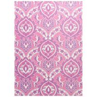 KAS Retreat Mackenzie 2-Foot 2-Inch x 7-Foot 6-Inch Runner in Pink