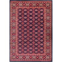 Surya Poulton Classic Border 5-Foot x 7-Foot 6-Inch Area Rug in Red