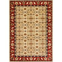 Surya Poulton Multi Medallion 2-Foot x 3-Foot Accent Rug in Red