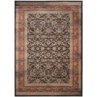 Safavieh Vintage Bella 8-Foot x 11-Foot Area Rug in Black/Rust