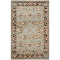Safavieh Vintage Mariel 6-Foot 7-Inch x 9-Foot 2-Inch Area Rug in Light Blue/Brown
