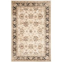 Safavieh Vintage Mariel 6-Foot 7-Inch x 9-Foot 2-Inch Area Rug in Ivory/Brown