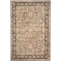 Safavieh Vintage Marciana 6-Foot 7-Inch x 9-Foot 2-Inch Area Rug in Taupe/Black