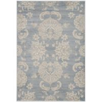 Safavieh Vintage Guiliana 4-Foot x 5-Foot 7-Inch Area Rug in Light Blue/Ivory