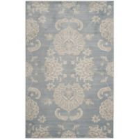 Safavieh Vintage Guiliana 5-Foot 1-Inch x 7-Foot 7-Inch Area Rug in Light Blue/Ivory