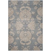 Safavieh Vintage Guiliana 6-Foot 7-Inch x 9-Foot 2-Inch Area Rug in Light Blue/Ivory