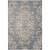 Safavieh Vintage Guiliana 8-Foot x 11-Foot Area Rug in Light Blue/Ivory