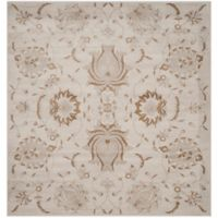 Safavieh Vintage Cameron 6-Foot 7-Inch Square Area Rug in Camel/Cream
