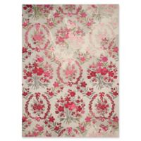 Safavieh Monaco Leo 10-Foot x 14-Foot Area Rug in Grey/Pink