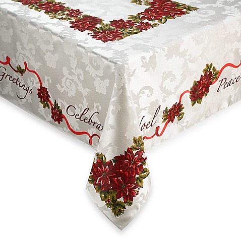 Christmas Inspirations 70 Quot X 90 Quot Tablecloth Bed Bath
