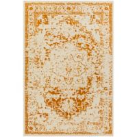 Surya Everton Border 1-Foot 10-Inch x 2-Foot 11-Inch Accent Rug in Rust