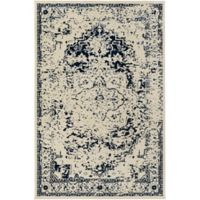 Surya Everton Border 1-Foot 10-Inch x 2-Foot 11-Inch Accent Rug in Purple