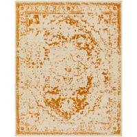 Surya Everton Border 7-Foot 10-Inch x 9-Foot 10-Inch Area Rug in Rust