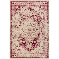 Surya Everton Border 1-Foot 10-Inch x 2-Foot 11-Inch Accent Rug in Pink