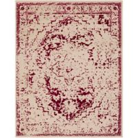 Surya Everton Border 7-Foot 10-Inch x 9-Foot 10-Inch Area Rug in Pink