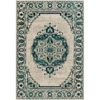 Surya Everton Classic Medallion 1-Foot 10-Inch x 2-Foot 11-Inch Accent Rug in Green