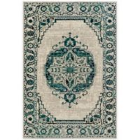 Surya Everton Classic Medallion 5-Foot 3-Inch x 7-Foot 3-Inch Area Rug in Green