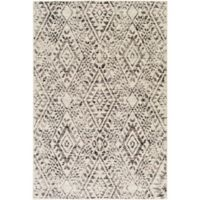 Surya Everton Global Diamonds 1-Foot 10-Inch x 2-Foot 11-Inch Accent Rug in Taupe