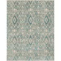 Surya Everton Global Diamonds 7-Foot 10-Inch x 9-Foot 10-Inch Area Rug in Green