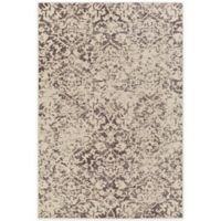 Surya Everton Damask Medallions 5-Foot 3-Inch x 7-Foot 3-Inch Area Rug in Camel
