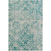 Surya Everton Damask Medallions 8-Foot 10-Inch x 12-Foot 9-Inch Area Rug in Teal