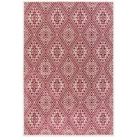 Surya Everton Global 5-Foot 3-Inch x 7-Foot 3-Inch Area Rug in Pink