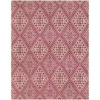 Surya Everton Global 7-Foot 10-Inch x 9-Foot 10-Inch Area Rug in Pink