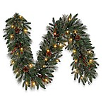 6-Foot LED Traditional Garland (Set of 2)
